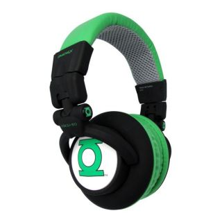 Omenex KSK DJ150 Green Lantern   Achat / Vente CASQUE  ECOUTEUR Omenex