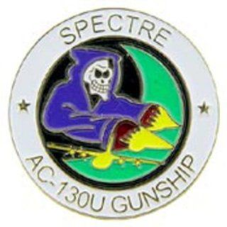 U.S. Air Force AC 130U Spectre Gunship Pin 1 Sports