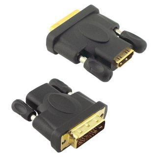SKQUE HDMI Female to DVI Male Adapter