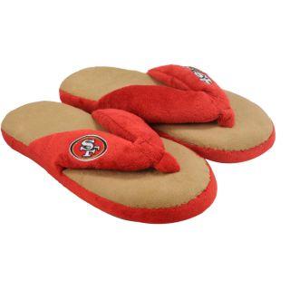 San Francisco 49ers Womens Flip Flop Thong Slippers