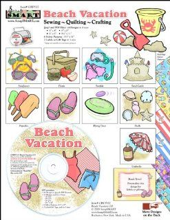ScrapSMART   Beach Vacation   Clip Art Software Collection
