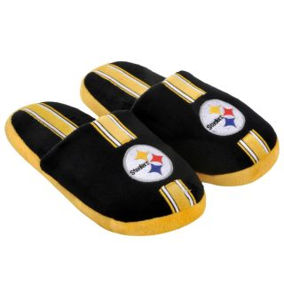 Pittsburgh Steelers Striped Slide Slippers