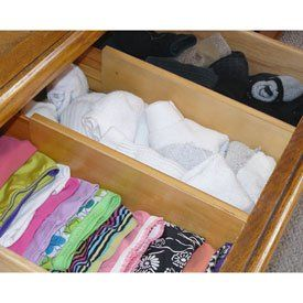Axis 128 Natural Wood Spring Loaded Dresser Drawer