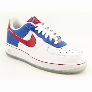 Nike Girls Air Force 1 Prem Low White Shoes (Size 6.5)