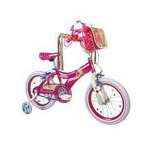 Barbie Girls Bike, 16 Inch, Pink/White Sports & Outdoors
