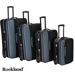 Rockland Polo Equipment 4 piece Luggage Set MSRP $445.00 Today $216