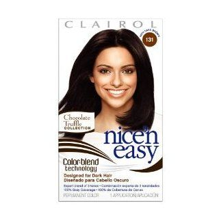 Clairol Nice n Easy Color, 131 Rich Dark Brown (Pack of 3