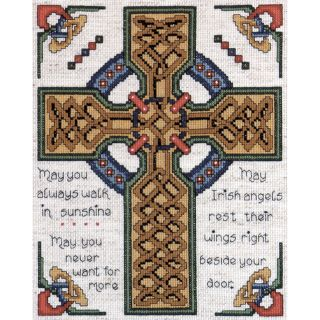 Celtic Cross Counted Cross Stitch Kit 8X10 14 Count