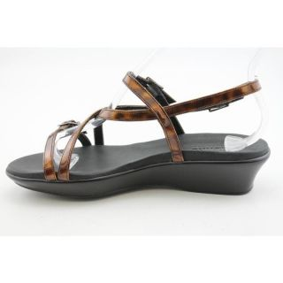 Munro American Womens Amber Browns Sandals (Size 7)