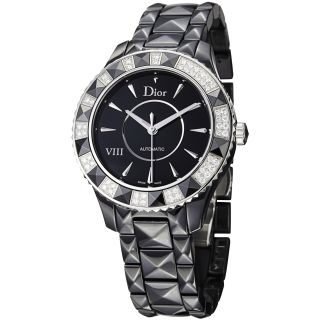 Christian Dior Womens Black Eight Black Ceramic Automatic Watch