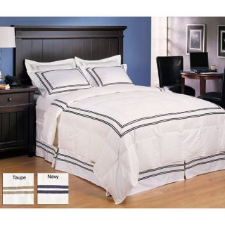 Hotel Collection 3 piece Down Comforter and Sham Set