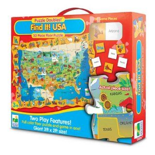 The Learning Journey Puzzle Doubles Find It USA Toys