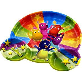Backyardigans Plastic Divider Plate Toys & Games