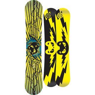 Santa Cruz Mens Yellow Iouri Ipod Pro TT 154cm Snowboard