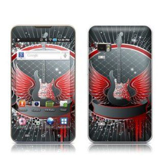 Rock Out Design Protective Decal Skin Sticker for Samsung