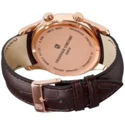Frederique Constant Mens Index Worldtimer Quartz Watch