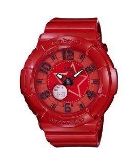 Casio BGA133 4B Baby G Red Rock Star Neon Illuminator Ladies Watch