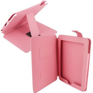 SKQUE Apple iPad Pink Leather Case Stand