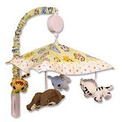 Trend Lab Chibi Zoo 7 piece Crib Bedding Set