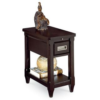 Campbell Dark Cafe Reclinermate End Table