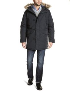 Ben Sherman Mens Heavy Weight Textured Nylon City Parka
