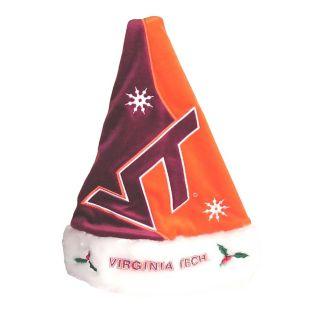 Virginia Tech Hokies Polyester Santa Hat