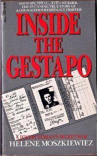 Inside the Gestapo Helene Moszkiewiez 9780440141129