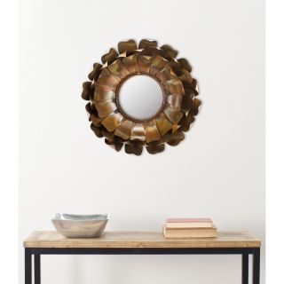 Handmade Arts and Crafts Blossoms Petal Wall Mirror Today $98.99 Sale