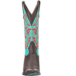 Lane by Anna Harris Womens Vines Cowboy Boots