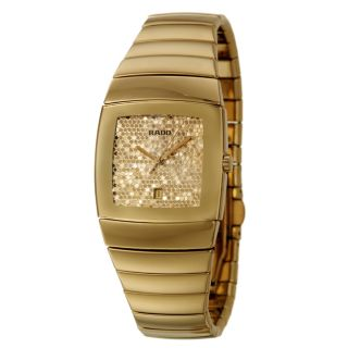Rado Womens Sintra Gold plated Stainless Steel Watch