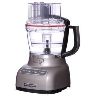 KitchenAid RKFP1333CS Cocoa Silver 13 cup Food Processor (Refurbished