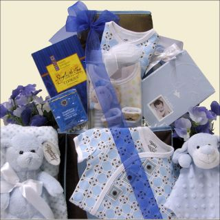 Great Arrivals Welcome Home Baby Boy Gift Basket Today $121.99