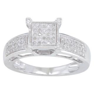 Sterling Silver 1/5ct TDW Diamond Ring (H I, I3)
