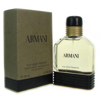 Giorgio Armani Armani Mens 3.4 ounce Eau de Toilette Spray