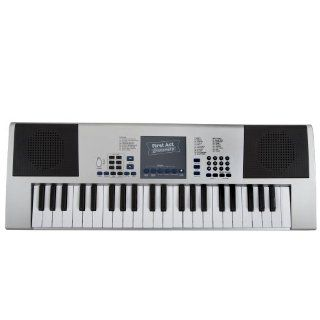 First Act FI142 Electronic Keyboard, Silver Musical