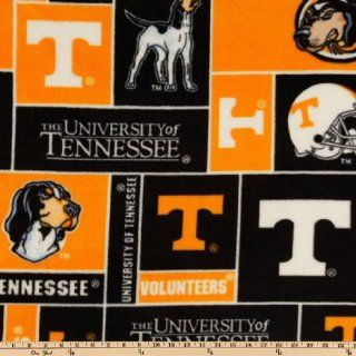 60 Wide Collegiate Fleece University of Tennessee Block