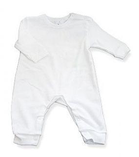 Baby Jay, Infant, Toddler White Romper,   Long Sleeve