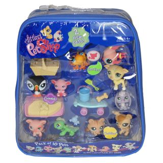 Littlest Pet Shop 10 pack Pet Bundle