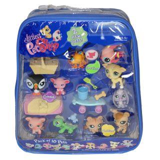 Littlest Pet Shop 10 pack Pet Bundle