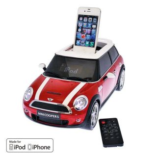 NEO MINI COOPER Rouge Dock iPod / iPhone   Achat / Vente STATION D