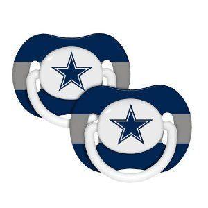 NFL Dallas Cowboys 2 Pack Pacifier