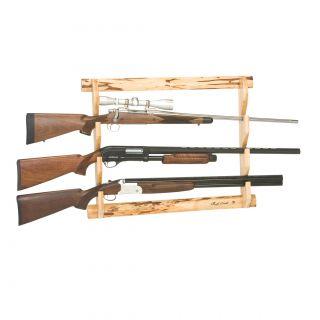 Evans Sports, Inc. Deer Print Wooden Gun Rack