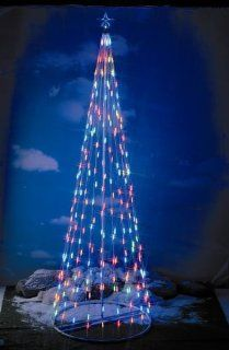 Homebrite 144 Prelit Christmas Tree, 61387, Multi color