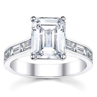 14k White Gold 7/8ct TDW Diamond Engagement Ring