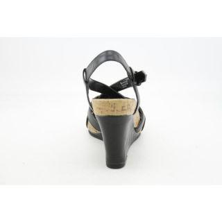Aerosoles Womens At First Plush Blacks Sandals
