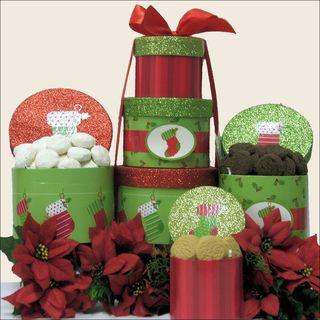 Christmas Stocking Holiday Christmas Gift Tower