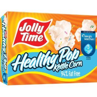 Jolly Time Healthy Pop Kettle Corn Microwave Popcorn, 9 oz. (Pack of