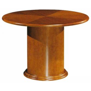 Mayline Diamond Pattern 48 inch Round Conference Table