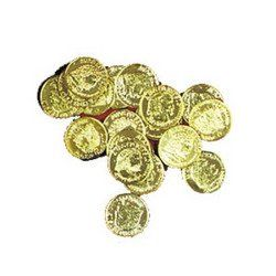 Plastic Gold Coins 144 ct [Toy] Baby