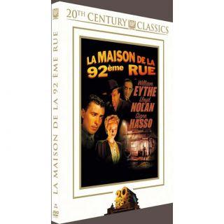 La maison de la 92eme rue en DVD FILM pas cher